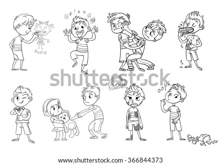 Naughty Kids Stock Images, Royalty-Free Images & Vectors