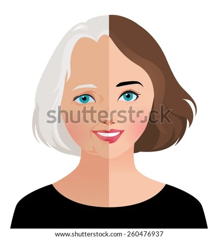 Old Woman Face Stock Images RoyaltyFree Images Vectors
