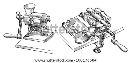 Meat-grinder Stock Images, Royalty-Free Images & Vectors