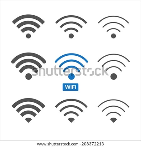 Wireless Symbol Stock Images, Royalty-Free Images