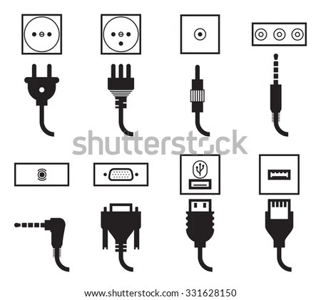 Outlet Plug Stock Images, Royalty-Free Images & Vectors