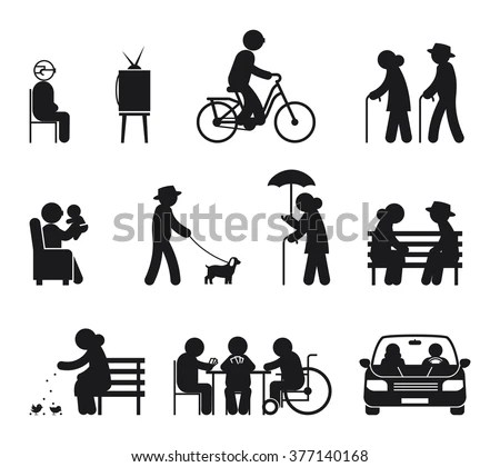 Retirement Icon Stock Images, Royalty-Free Images