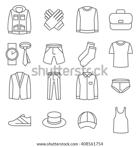 Wear Icon Stock Images, Royalty-Free Images & Vectors