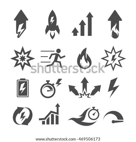 Efficiency Icon Stock Photos, Royalty-Free Images