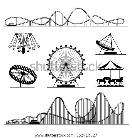 Amusement-ride Stock Images, Royalty-Free Images & Vectors