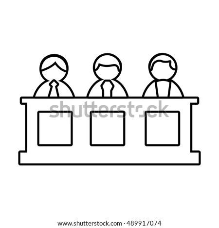 Jury Stock Photos, Royalty-Free Images & Vectors