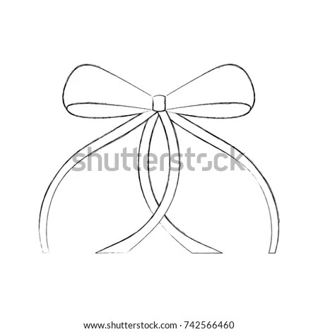Graduation Diploma Paper Scroll Yellow Ribbon Stock Vector