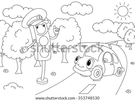 Traffic Rules Stock Images, Royalty-Free Images & Vectors