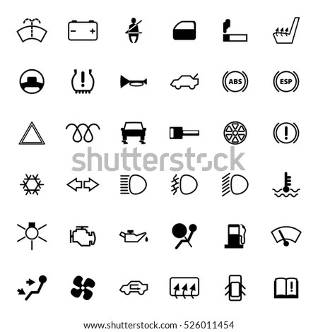 Car Warning Lights Stock Images, Royalty-Free Images