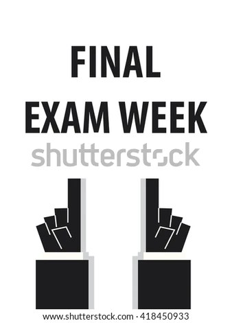 Final Exam Stock Images, Royalty-Free Images & Vectors