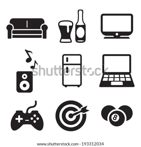 Man Cave Stock Images, Royalty-Free Images & Vectors