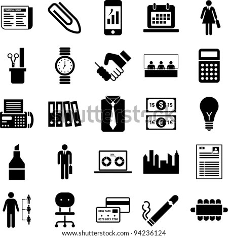 Pictogram Business Stock Photos, Images, & Pictures