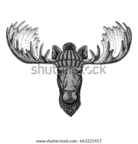 Moose Hat Stock Images, Royalty-Free Images & Vectors