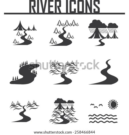 River Vector Stock Images, Royalty-Free Images & Vectors