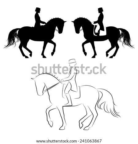 Dressage Stock Images, Royalty-Free Images & Vectors
