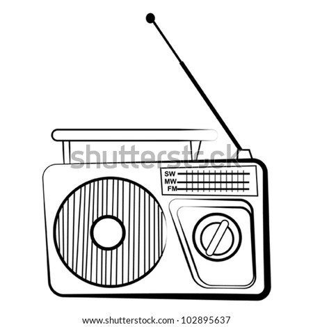 Radio Cartoon Stock Images, Royalty-Free Images & Vectors