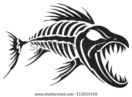 Fish Bones Stock Images, Royalty-Free Images & Vectors