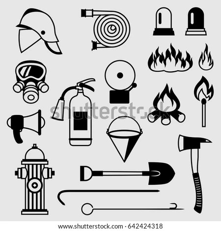 Fire Fighting Symbol Emergency Medical Care Symbol Wiring