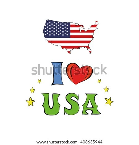 Download Stock Images similar to ID 54705724 - cartoon map of the ...