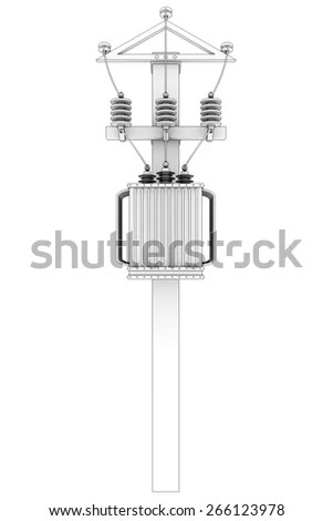 Electrical Substation Stock Illustrations & Cartoons