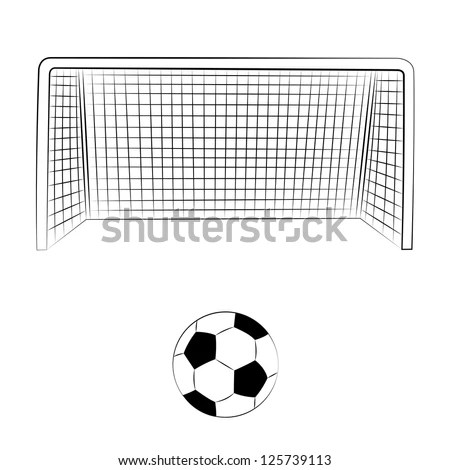 Soccer Goal Stock Images, Royalty-Free Images & Vectors