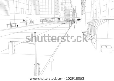 Perspective Drawing Stock Images, Royalty-Free Images