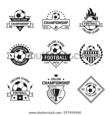 Soccer Crest Stock Images, Royalty-Free Images & Vectors