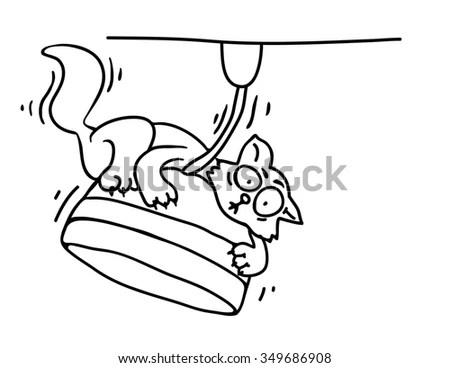 Chicken Sandwich Line Art Stock Illustration 35889085