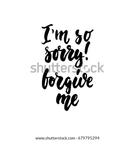 Forgive Me Stock Images, Royalty-Free Images & Vectors