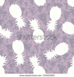 silhouette background pineapple seamless pattern banderitas shutterstock