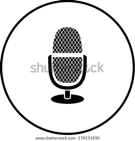 Microphone clip art Free Vector / 4Vector