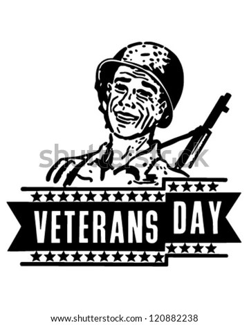 Royalty Free Stock Photos and Images: Veterans Day Banner