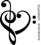Vector Images, Illustrations and Cliparts: Bass and treble