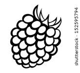 Blackberry Raspberry Clip Art, Vector Blackberry Raspberry