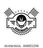 racing logo free vector
