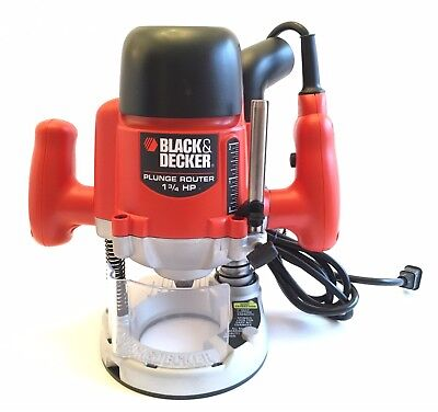 Black And Decker Commercial Duty Router