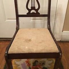 Tell City Chairs Pattern 4526 White Round Kitchen Table And Chair Zeppy Io Co Vintage Lyre Harp Back Wood Side S 2