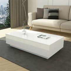 White Gloss Living Room Furniture Steakhouse New York Coffee Table Zeppy Io Rectangle Tea With Storage Drawers High