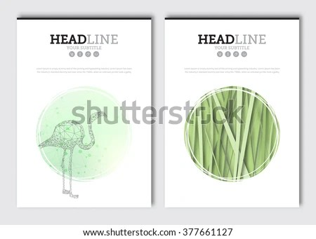 Eco Website Interface Template Agriculture Field Stock
