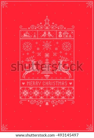 Abstract Christmas Cards. Download Abstract Christmas Cards Stock .  Christmas Card Layout