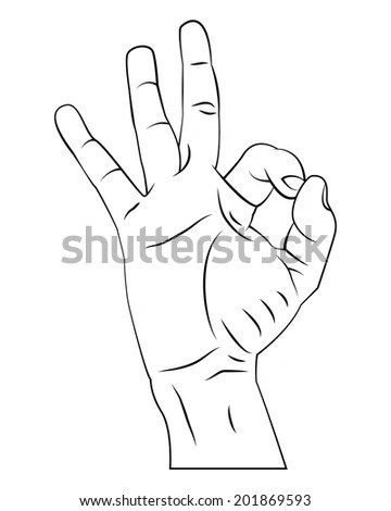 Vector Hands Shackles Broken Chain Stock Vector 422653888