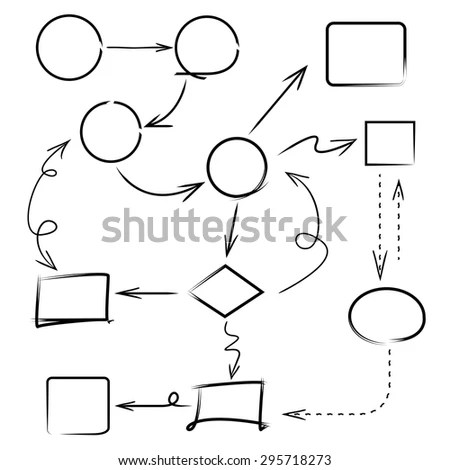 Hand Drawn Elements Divider Wavy Dotted Stock Vector