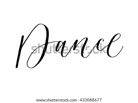 Join Us Hand Written Text Stock Vector 396311815