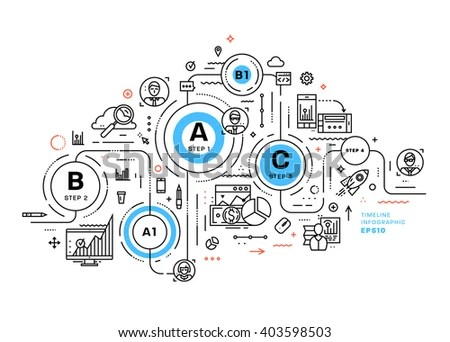 Integrated Circuit Layout Concept Internet Things Stock