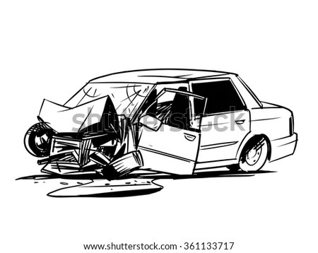Car Doodle Style Raster Stock Illustration 118092799
