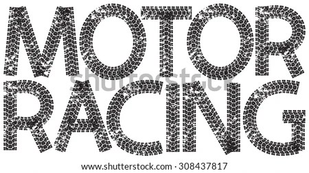 Motor Racing: Motor Racing Vector
