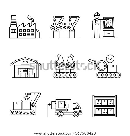 Warehouse Operations Walkie Forklifts Workers Robots Stock