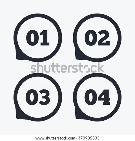 Speed Limitation Road Sign Set Stock Vector 6220399