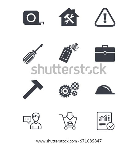 Flat Icons Electrical Circuit Breaker Switch Stock Vector