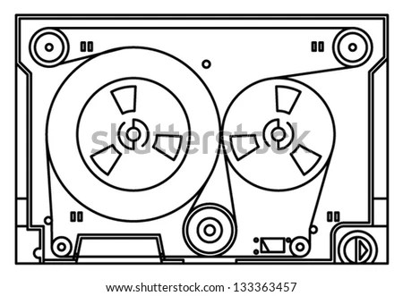 Av Audiovideo Cable Scart Hdmi Stock Vector 113450080